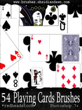 GIMP Playing Card Brushes by Project-GimpBC