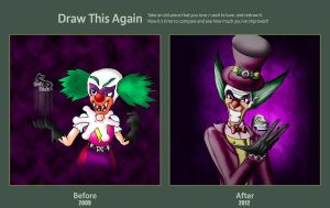 Draw this again contest_Happy Nightmare by Evil-Rick