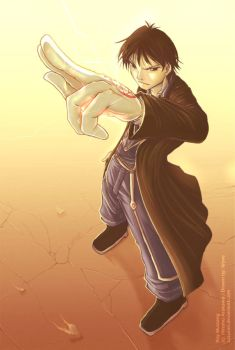 Roy Mustang by suzuran