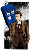 Tenth Doctor flats by topher208