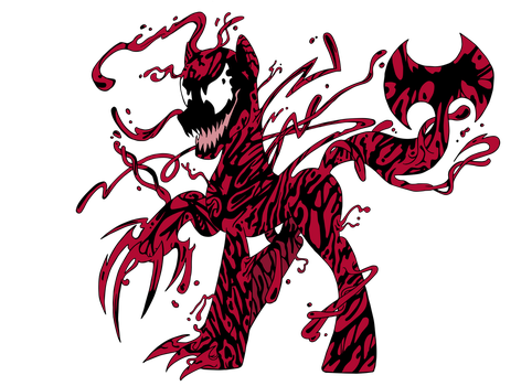 Spiders and Magic - Carnage (Pony) by edCOM02