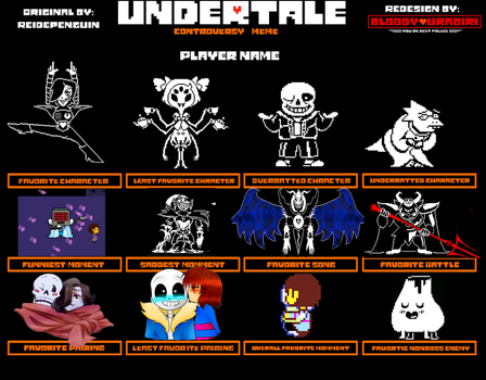 Undertale Controversy Meme by Sugared-Almond