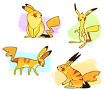Pikachurrs by Susiron