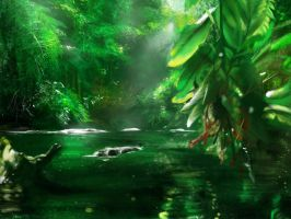 Jungle Study by JRCoffronIII