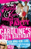 Caroline's Birthday Invite by syntex-nz