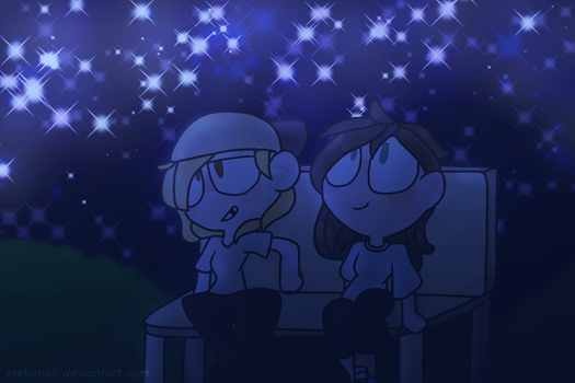 The Stars by StellaBall