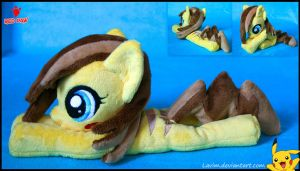 My Little Pony - Pikachu Pony - Handmade Plush by Lavim