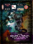 Mascara And Popcorn Fest Ad 2 by emilieleger