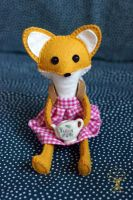 Fox Doll Giveaway - Ending Soon by quirkandbramble