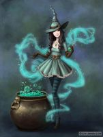 Witch Amanda by LiaSelina