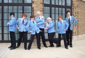 Ouran High School Host Club by banair