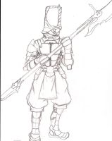 Arcadian Halberd by Andy1134