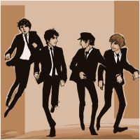 Beatles: run run run by lorainesammy