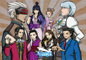 Phoenix Wright Fanart by saeko-doyle