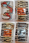 FOR SALE: HANDMADE CERAMIC SLAB BOXES W/ DRAGON by annehill