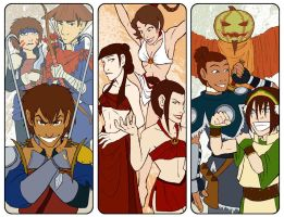 ATLA Bookmarks - BFF by AliWildgoose
