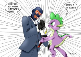 Spike vs Spy e,e by CIRILIKO