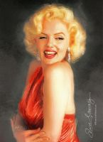 Suzie Kennedy Marilyn Monroe by Amro0