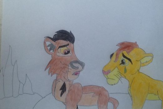 ( Old The Lion King drawing ) Kopa, you have to... by MLPNextGenFan