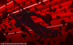 Scarred and Battled - Evangelion Mark.09 by Dark-EnigmaXIII