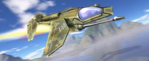Light Strike Fighter by Bristow-Bailey