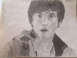 Realistic attempt at Percy Jackson by BlairFletcher