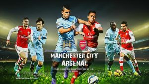 MANCHESTER CITY  - ARSENAL 2015 by jafarjeef