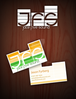 Jace Five Business Card by blo0p