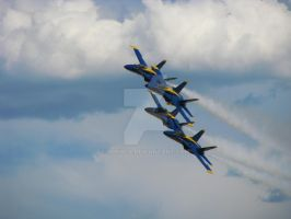 Blue Angels Diamond Pass III by Qphacs