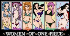 Ladies of One Piece: v2 by SunsetSovereign