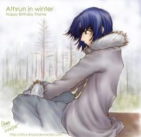 Athrun BD Theme 2 -- in winter by citrus-shood