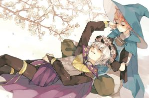 Eternal Bonds FEA Fanbook - Henry and Ricken by mellymerry