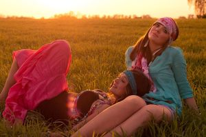 Hippie Girls by AlexanderRebholz