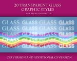 20 Transparent Glass Styles for Adobe Illustrator by Love-Kay