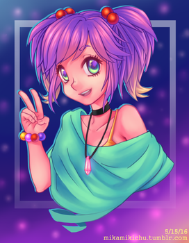 Rainbow Girl by XxPhantomRiderxX