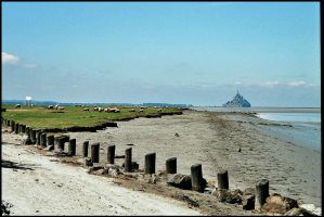 Mont St Michel by Feufoll3t