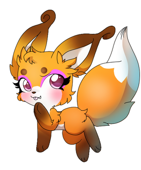 Fox Kwami by Cookie-Kit