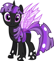 Redone Changeling Twilight by Drakizora