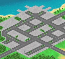 Map and buildings for Combats Commander by clest