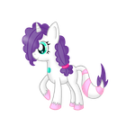 New Pony OC: Melody Moon the Zenyu by SilentRisingSun