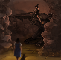 The Yellow Brick Road by Khalo