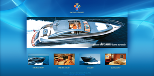 Yatch Website by waseemarshad