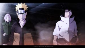 NARUTO 631 - Team 7 REBORN! (UPDATED BG) by EspadaZero