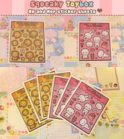 Cute sticker sheets by SqueakyToybox