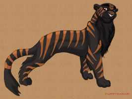 The Black Tiger by dyb