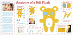 Anatomy of a Felt Plush by pookat