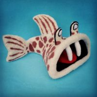 felted fish by ConniBerlin