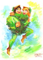 CC: Papageno and Papagena by MistyTang