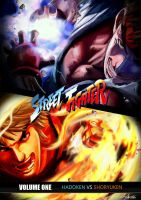 Hadoken VS Shoryuken by AndiMoo