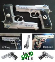 Prop Guns for Death the Kid SoulEater Cosplay by Devoted2Supernatural